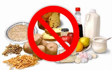 aliments à bannir